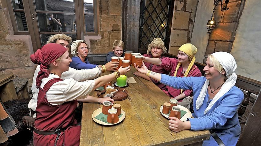 Mittelalter-Feeling in der Weißgerbergasse