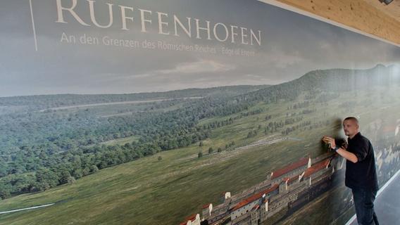 Der Römerpark Ruffenhofen hat ein neues Museum