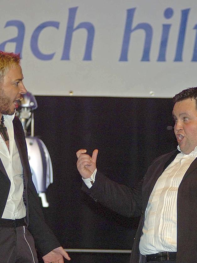 Mit einem Duett brillierten Tenor Alexander Herzog (re.) und Marcel Schneider (li.).