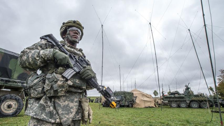 Fast 6000 Soldaten bei US-Manöver in Grafenwöhr