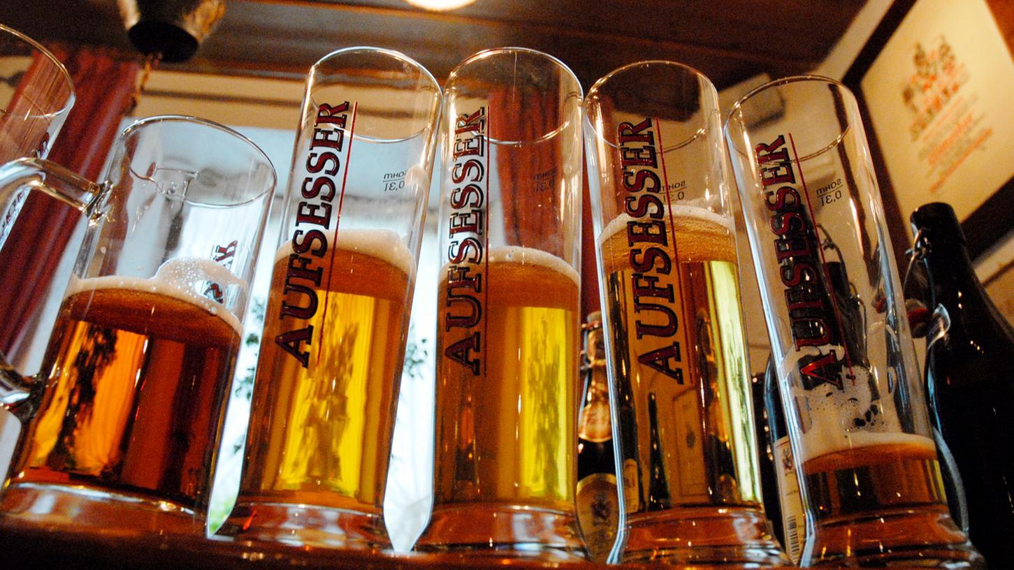 Aufseß punktete vor allem als Bier-Weltrekordgemeinde.