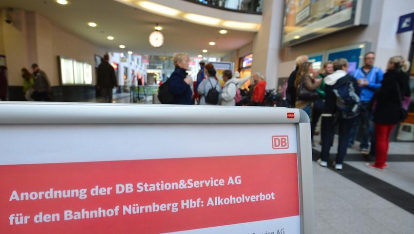 Null Promille am Nürnberger Hauptbahnhof