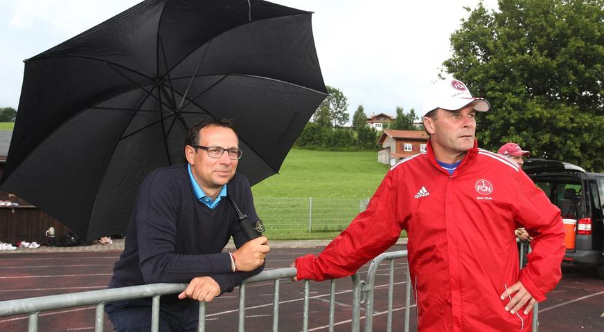 Wohltuend sachlich und mit viel Augenmaß formte Hecking gemeinsam mit Bader den FCN zu einem etablierten Erstligisten. Emotional wurde Hecking allerdings...