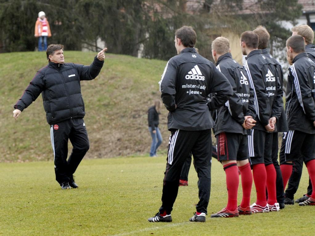 RESSORT: Sport 3.1.07 FOTOGRAF: Karlheinz Daut MOTIV: FCN Fußball, Auftakttraining