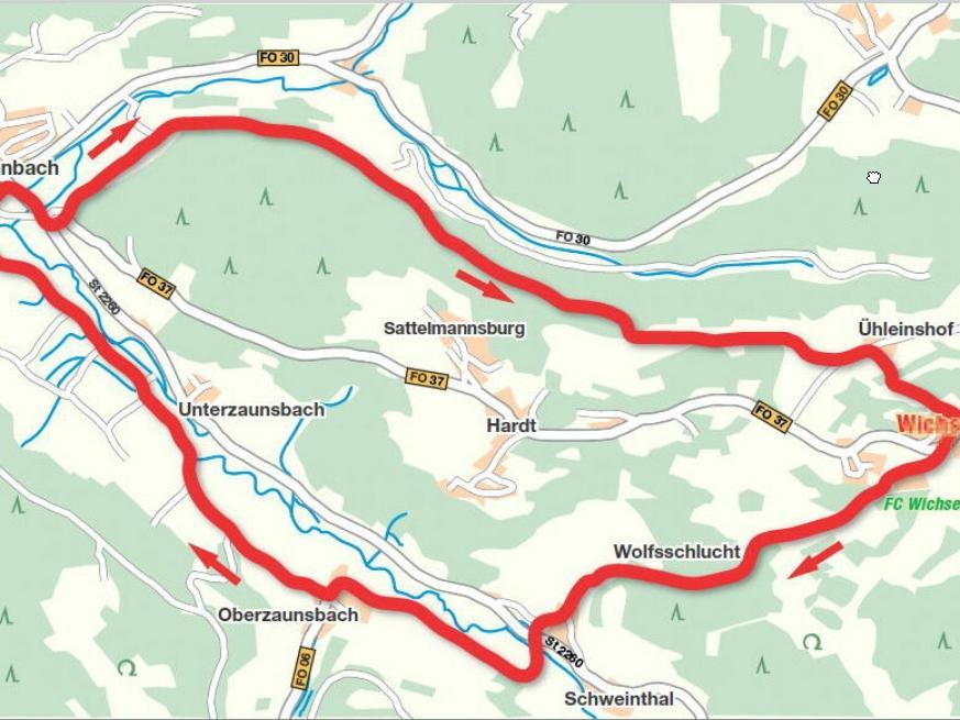 Die gesamte Wanderstrecke ist nur rund elf Kilometer lang - die Tour wartet aber mit einigen heftigen Steigungen auf.