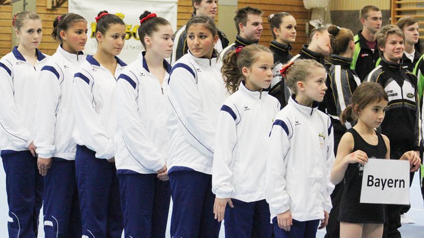 Impressionen von der Deutschen Mannschaftsmeisterschaft der Sportakrobaten in Weißenburg