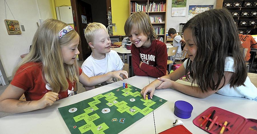 Der Unterricht wird individualisiert: Jedes Kind bekommt eine Aufgabe, an der es wachsen kann.
