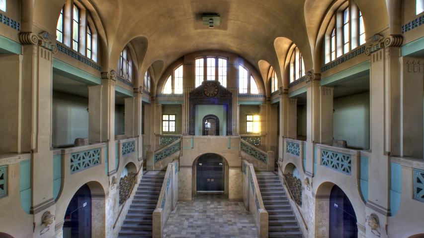 Die Sanierung des Nürnberger Volksbads kostet – je nach Ausbauvariante – netto zwischen 47 und 50 Millionen Euro.