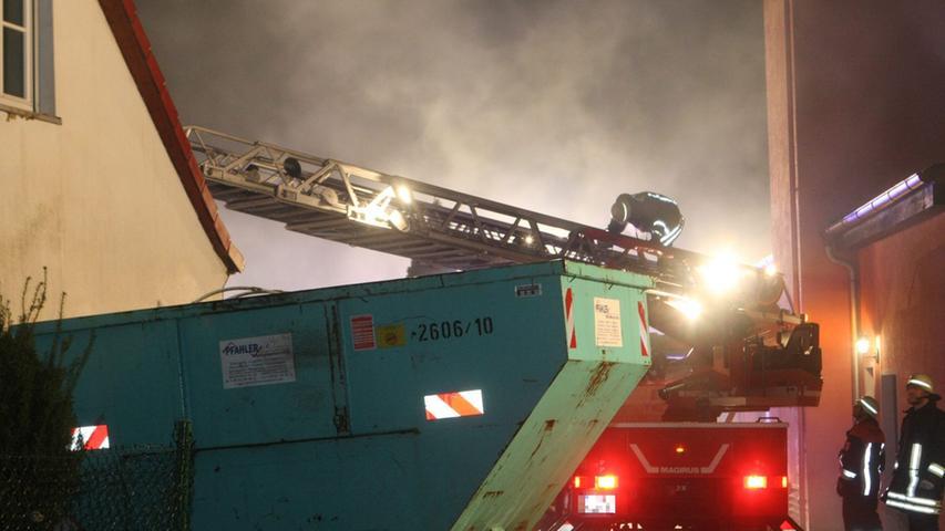 Menschen wurden bei dem Brand nicht verletzt, allerdings...