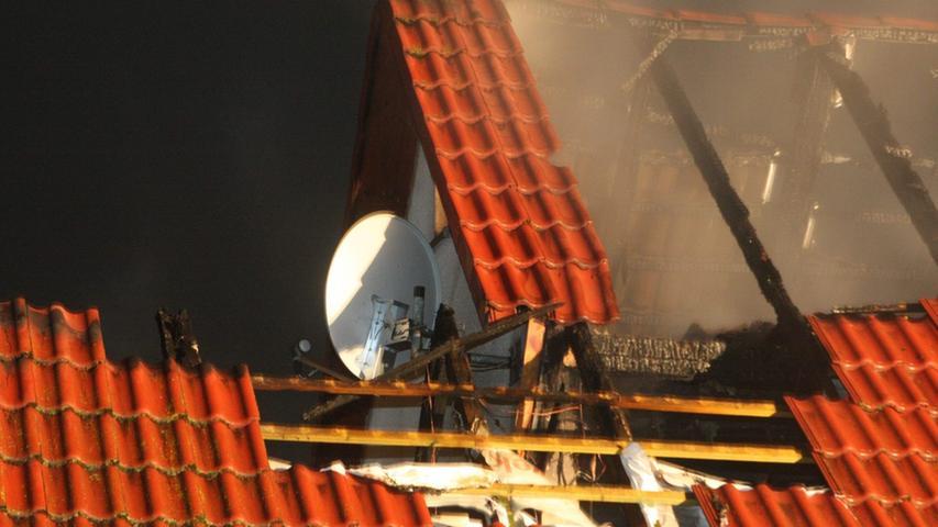 Am Freitagabend ist es in Langfurth zu einem Hausbrand gekommen.