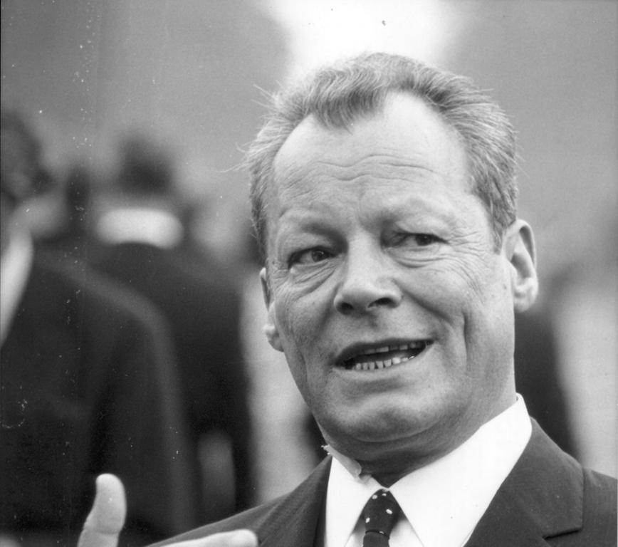 Motiv: Willy Brandt - 1969 - Foto: Keystone