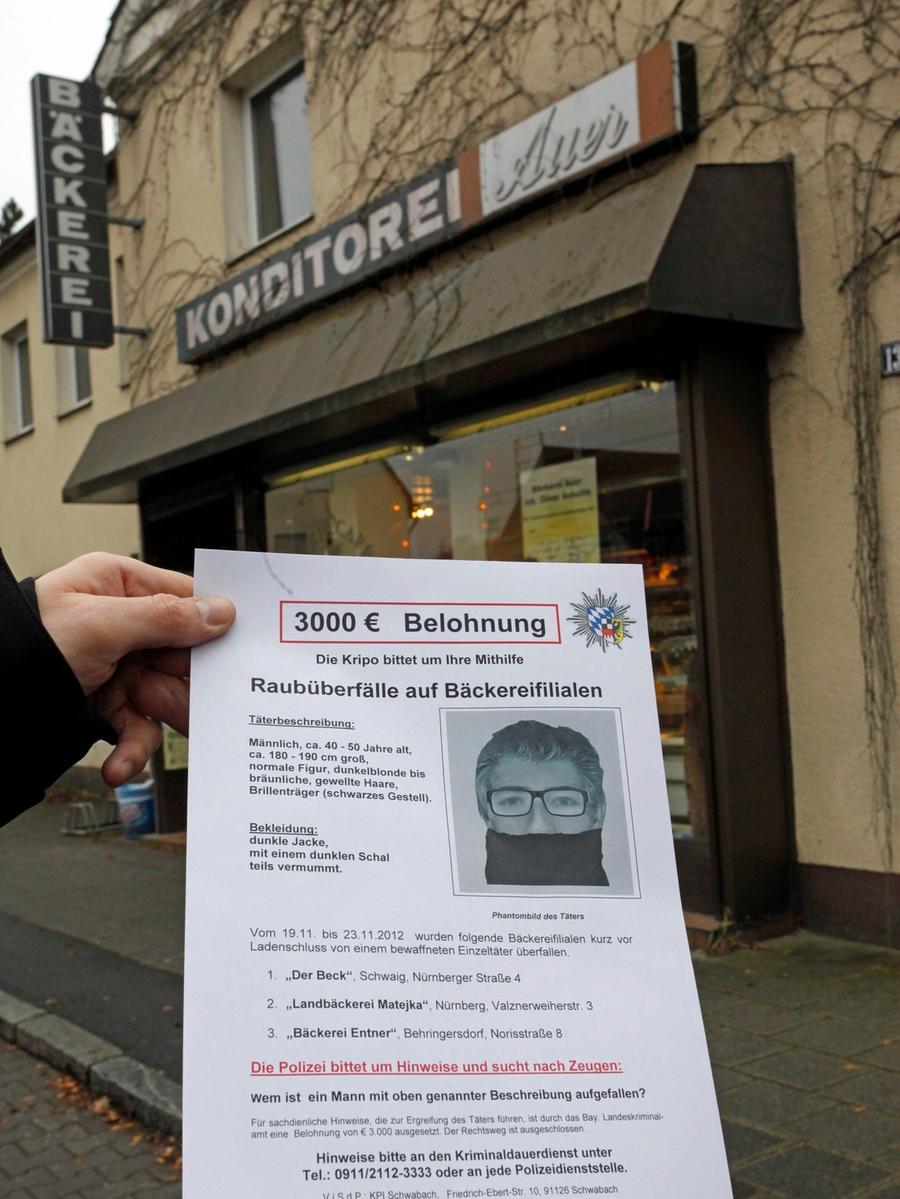 Motiv: Überfall auf eine Bäckerei in Fischbach. Datum: 28.11.2012 Foto Roland Fengler