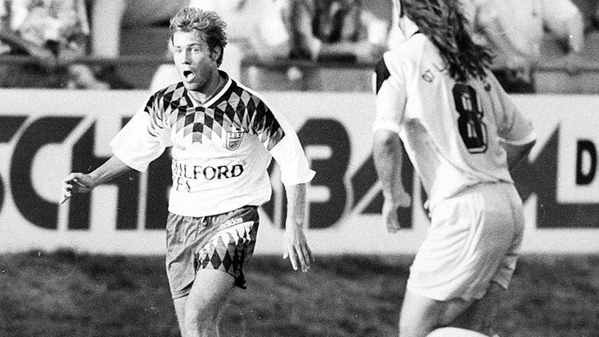 Im Kader des Vereins war auch ein Spieler, der später noch zu einer berühmten Figur in der Geschichte der SpVgg werden sollte: Frank Kramer, der während seines Studiums an der Friedrich-Alexander-Universität ab 1995 ein Jahr für den TSV kickte.