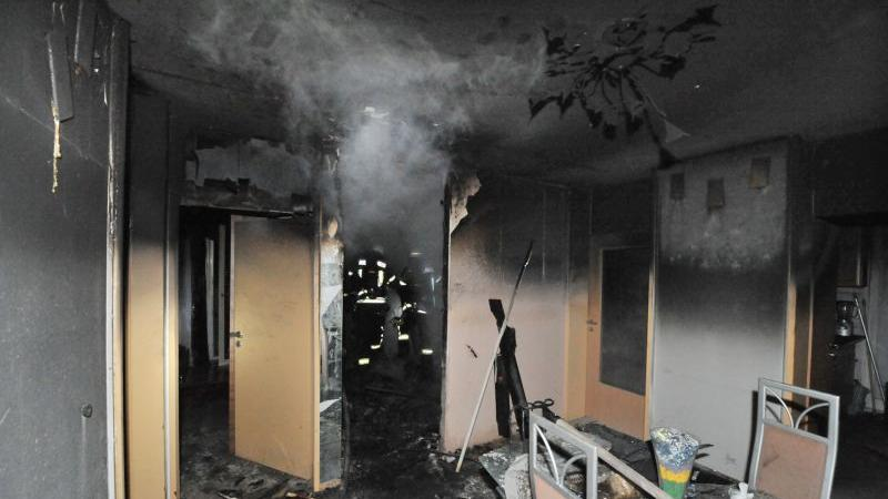 Bis die Räume wieder bewohnbar sind, wird es einiger Sanierunsarbeiten bedürfen.