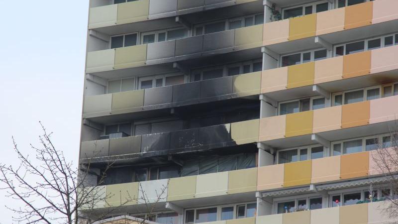 Auch am Tag nach dem Brand ist die Zerstörung am