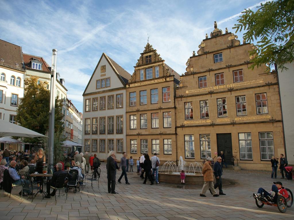 Motiv: Bielefeld Alter Markt..Foto Bielefeld Marketing GmbH honorarfrei..gespeichert Dez 2012