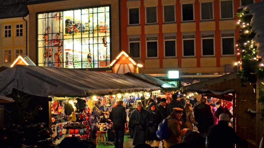 Lebkuchen, Früchtebrot und Glühwein: Der Weihnachtsmarkt in Bamberg