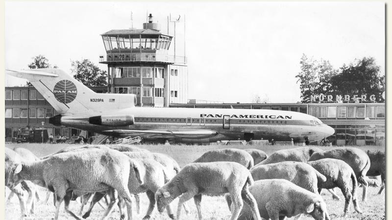 Abheben seit 1955: Die Geschichte des Nürnberger Flughafens