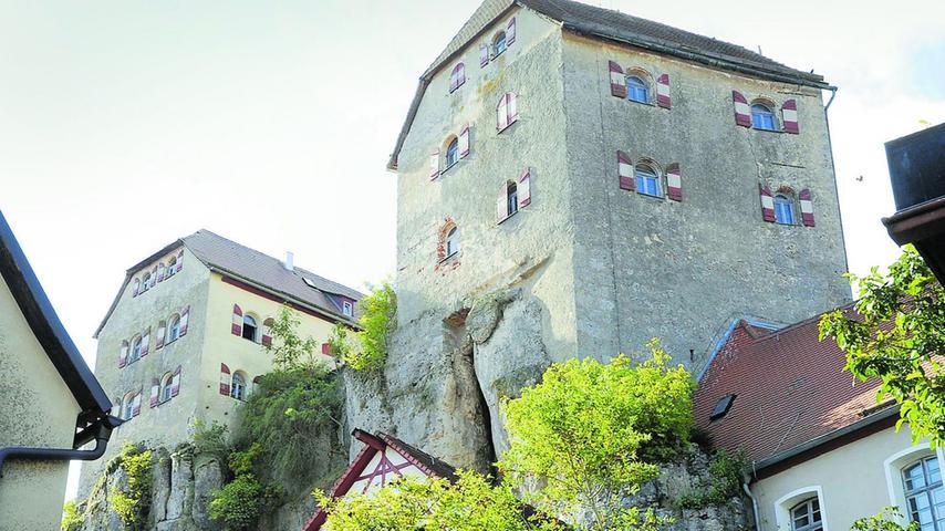 Burg Hiltpoltstein - Wahrzeichen aus dem Mittelalter
