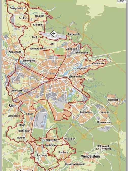 Elf Jagdreviere existieren in Nürnberg, zehn davon haben Jagdgenossenschaften gepachtet.