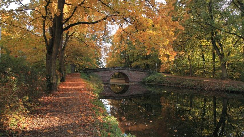 Heute ist der Alte Kanal vor allem Naherholungsraum für die Bewohner der Metropolregion.