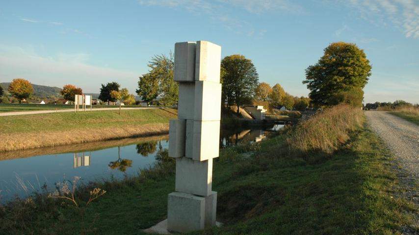 Zwischen Beilngries und Nürnberg ist der Ludwig-Donau-Main-Kanal bis heute weitgehend erhalten.