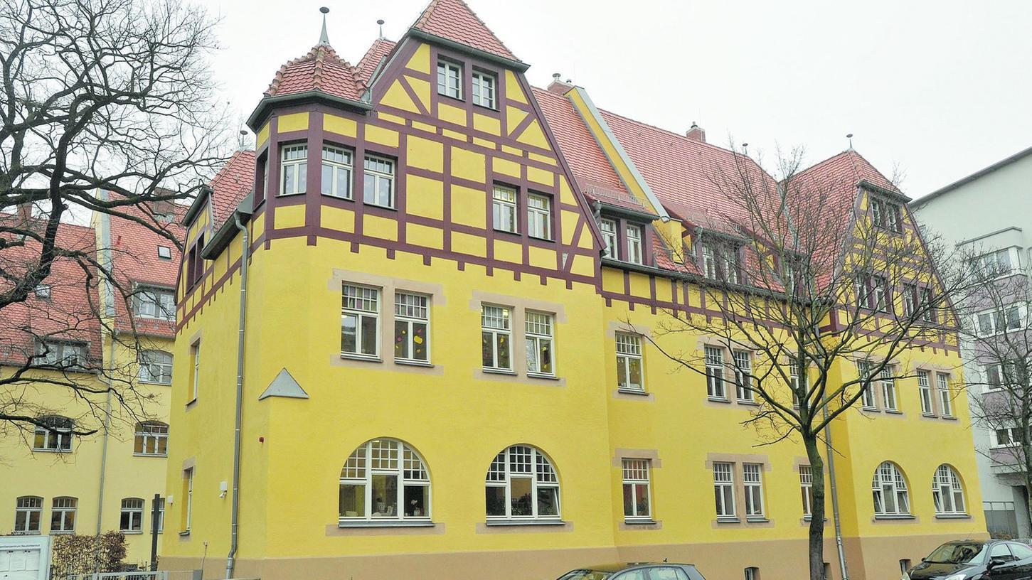 Das frühere MAN-Arbeiterhaus in der Pillenreuther Straße wurde aufwendig saniert.