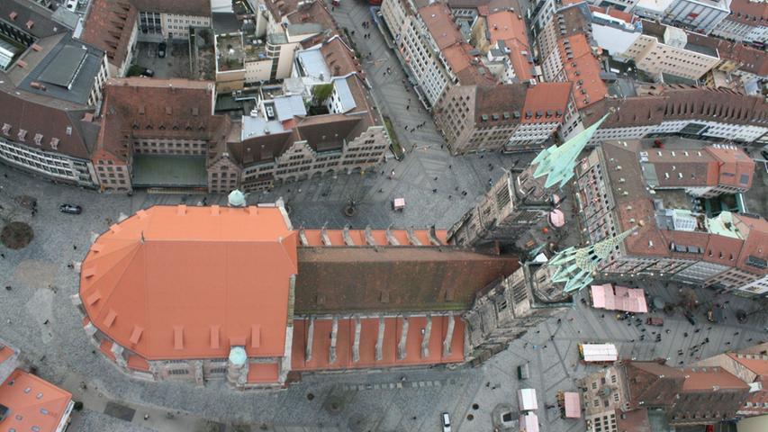 Ballonfahrt über Nürnberg: Die Frankenmetropole von oben