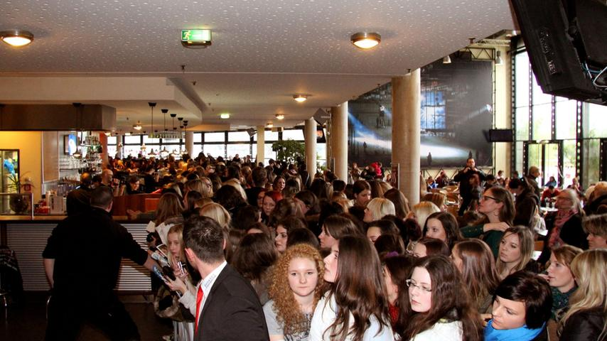 ...Mittwoch (16. Januar) das Nürnberger Kino Cinecitta besucht, um...
