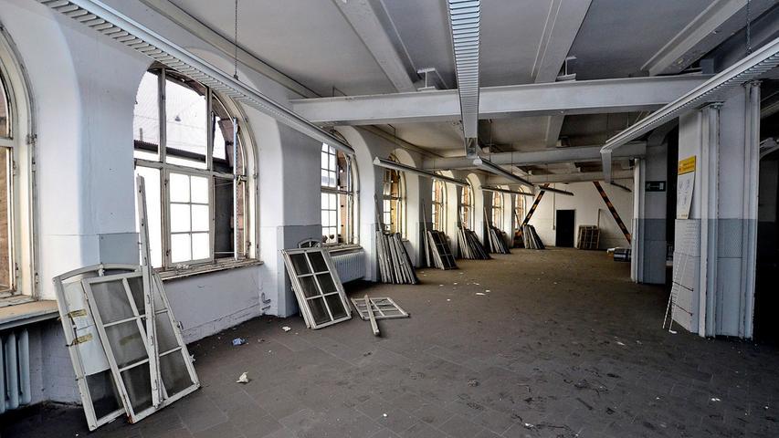 Allerdings sollen die Renovierungsarbeiten erst Ende 2015 beginnen.