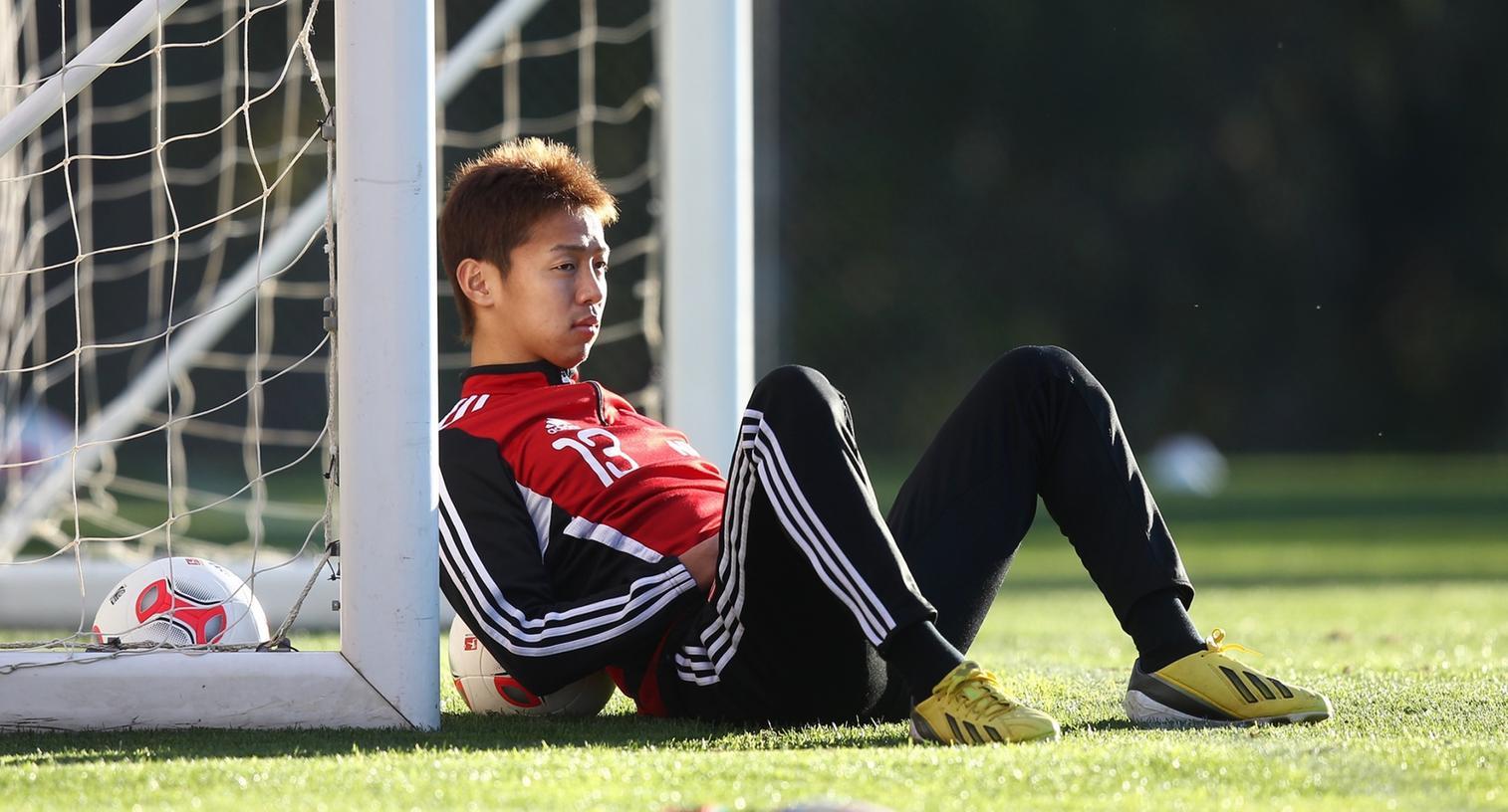 Vor der Rückrunde ein Star, sitzt Kiyotake derzeit auf der Bank.