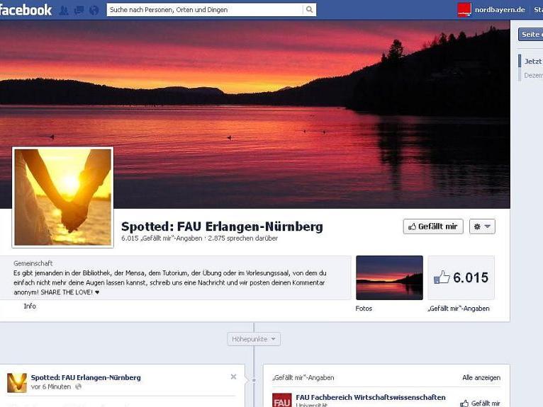 Nürnberg Erlangen Spotted Fau Facebook Flirthilfe Für