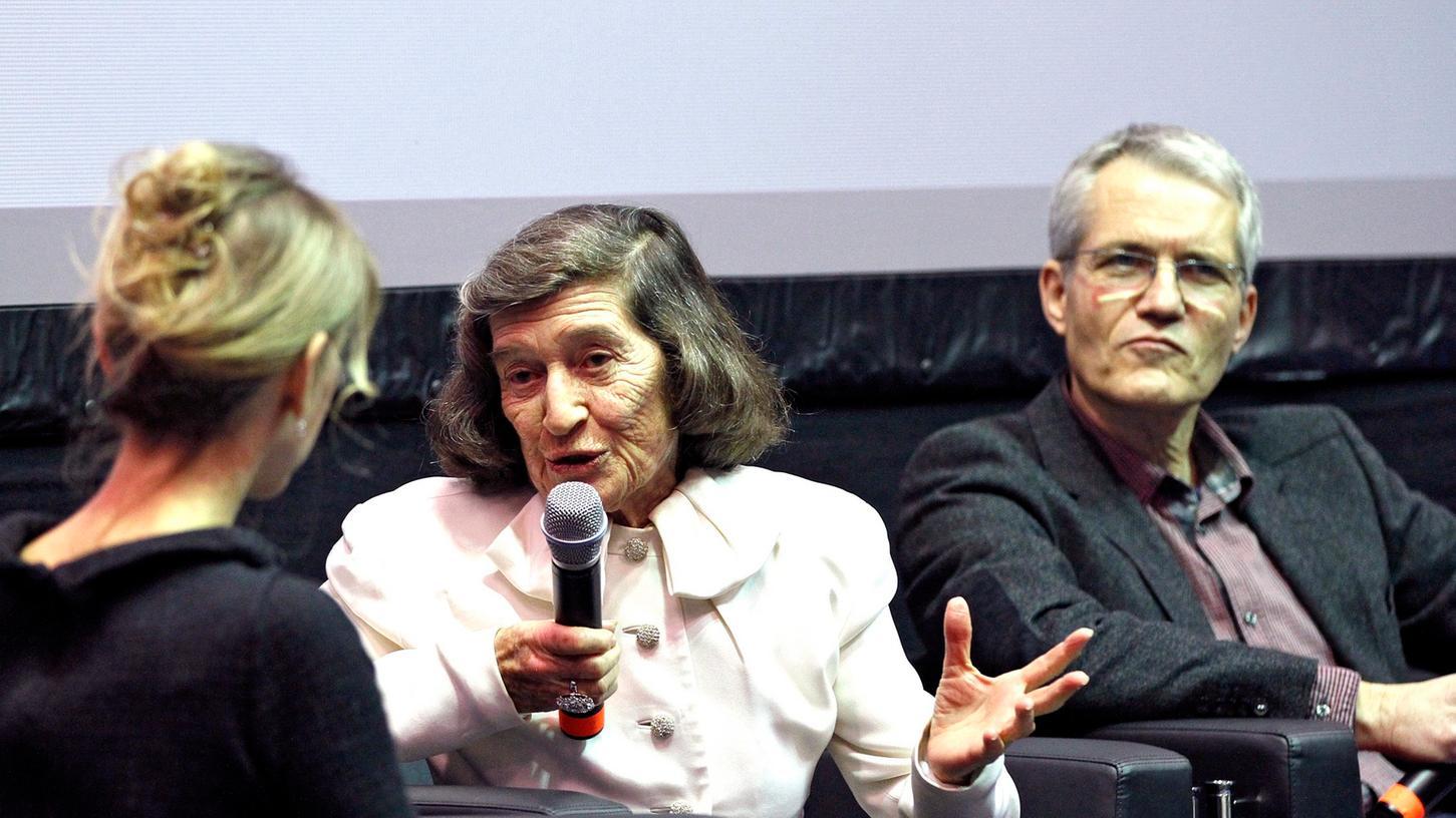 Evelyn Konrad zu Besuch in Nürnberg.