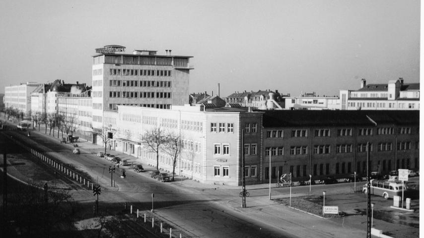 ...prägten das Straßenbild der Fürther Straße. Zwischen Nürnberg und Fürth hatte die Zweiradproduktion eine lange Tradition. So...