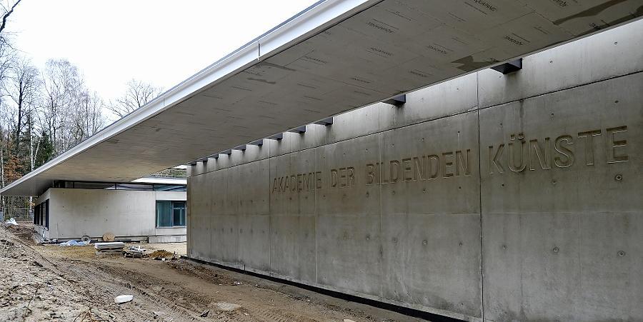 Am 15. April beginnt der Lehrbetrieb im Erweiterungsbau der Nürnberger Kunstakademie, der für rund zehn Millionen Euro entsteht.