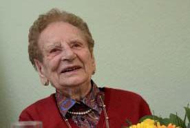 Anne Loos feierte ihren 100. Geburtstag.