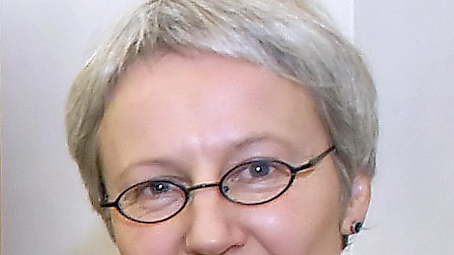 Anne Grimmer, die Leiterin der Stadtbibliothek.