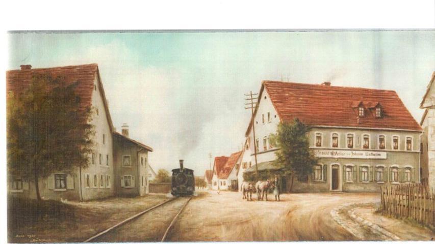 Die Bahn wurde auf vielen verschiedenen Bildern festgehalten.