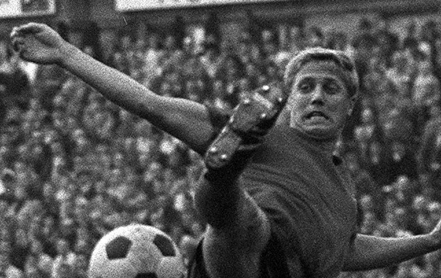 Leitete gegen Hannover die Meisterschaft ein: Franz Brungs.