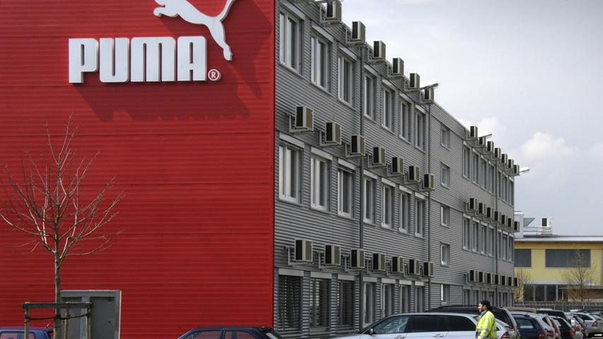 22. Wir haben den Sport. Mit Puma (Bild) und Adidas haben gleich zwei global agierende Sportartikelhersteller ihren Ursprung und ihren Sitz in Franken.