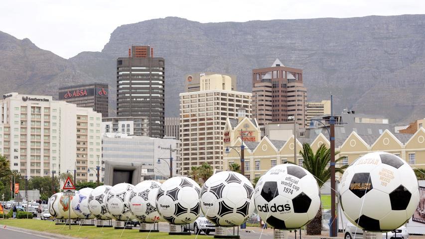 Seit 1970 entwickelt Adidas für jede WM einen neuen Fußball. Der erste Ball hieß