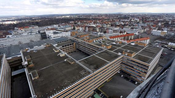 Altes Quelle-Zentrum in Nürnberg: