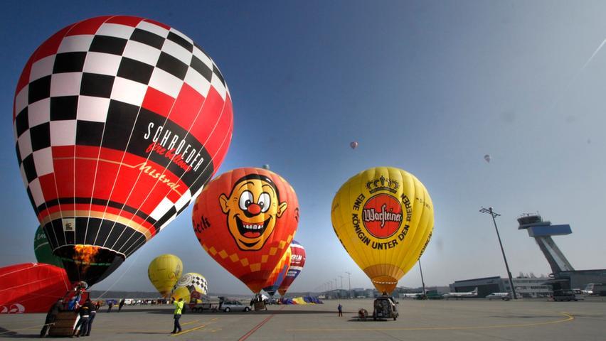 Frankenballoncup bringt Farbe in den blauen Nürnberger Himmel
