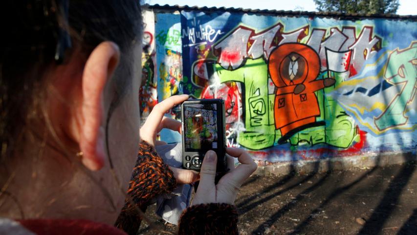 Ein klassisches Graffiti kann in einer sogenannten
