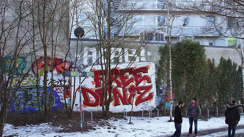Nicht jedes Graffiti hat auch eine Message, aber es ist durchaus üblich.