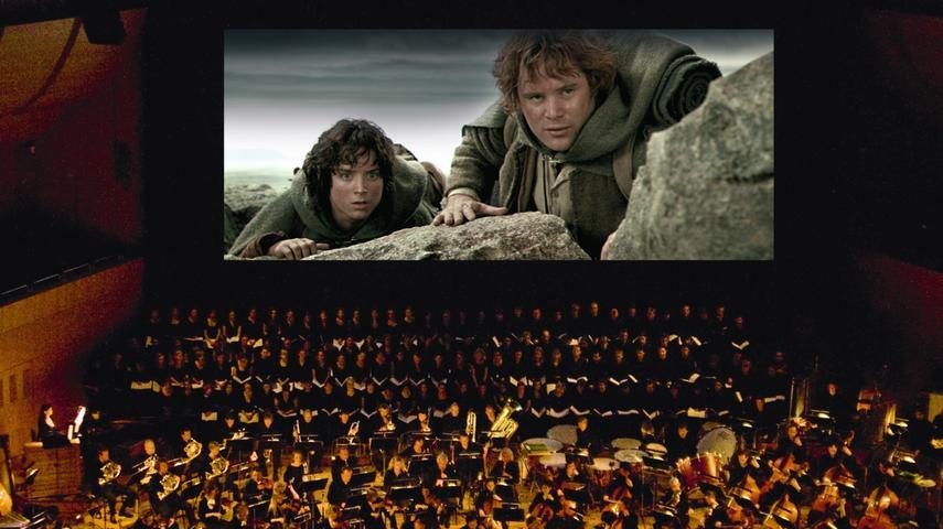Am 19. und 20. Dezember endet die Trilogie in der Meistersingerhalle: Symphonieorchester, Chor und Solisten spielen live zur Vorführung von