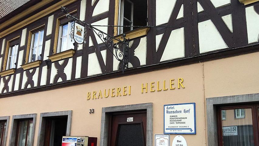 Privatbrauerei und Gaststätte Hans Heller, Herzogenaurach