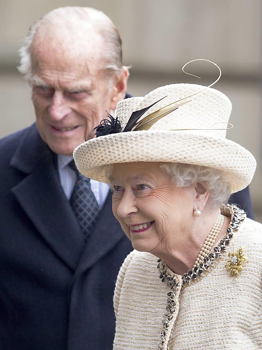 Genesen: Königin Elizabeth II., hier mit ihrem Mann Prinz Philip.