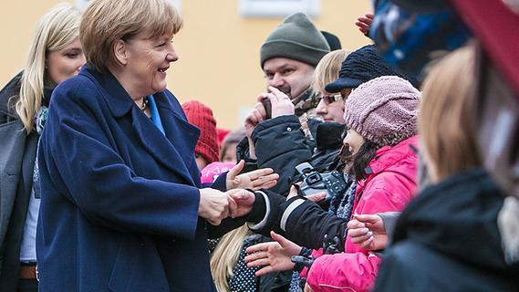 Langenfeld: Angela Merkel zu Gast in Franken