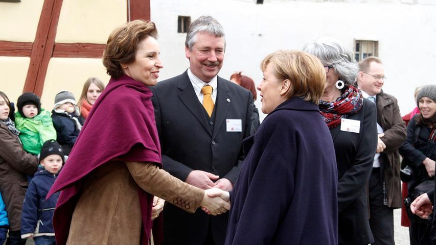 ...Bayerns Sozialministerin Christine Haderthauer,...